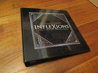 Game of Thrones Inflexions Special Edition Trading Cards Binder/Album