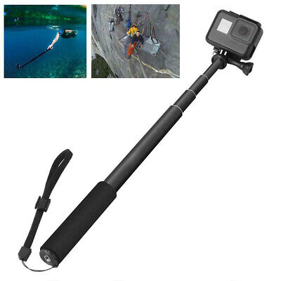 1x Portable Selfie Stick Adjustable Telescoping Monopod Pole for Gopro Hero Gift