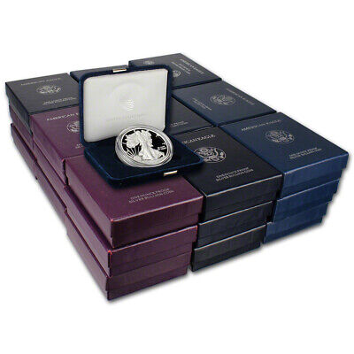33-pc. 1986 - 2019 American Silver Eagle Proof - Complete Date Set