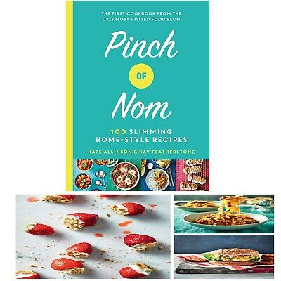 Pinch of Nom 100 Slimming Home-style Recipes Book Hardcover Cookbook Weight Loss