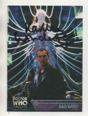 """Dr Who Topps Timeless Card No.44 Auto by Karren Winchester """"Fitch"""""""