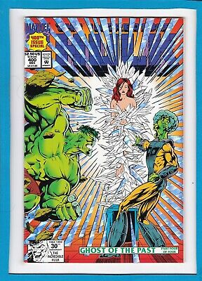 INCREDIBLE HULK #400_DEC 1992_NM MINUS_400th ISSUE SPECIAL_HOLO-GRAFX COVER!
