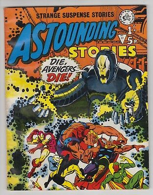 Astounding Stories # 77  Alan Class  Avengers # 67  Ultron  -Vf  Uk Edition