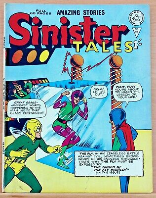 Sinister Tales 84 a fn+1964 Alan Class reprint Tales of Suspense 39 1st Iron Man
