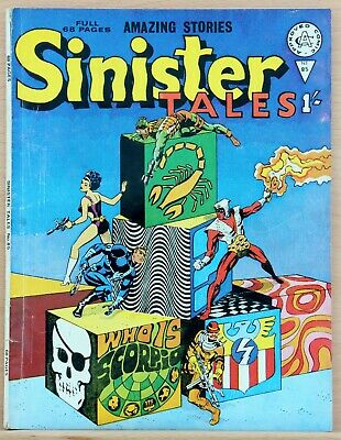 Sinister Tales 85 a fn+ 1968 Alan Class reprints Agent of Shield 1 Jim Steranko