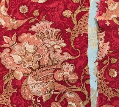 2 BEAUTIFUL PIECES 19th CENTURY FRENCH NAPOLEON III LINEN/COTTON  c1860s 247