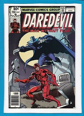 DAREDEVIL #158_MAY 1979_VERY FINE_1st FRANK MILLER_DEATH-STALKER_BRONZE AGE!