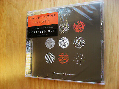 Twenty One Pilots Blurryface Cd 2015 New Sealed 'Stressed Out' Fueled By Ramen