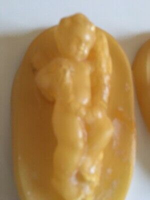 Two Rubber Moulds  Musical Cherubs.Plaster Moulds Hobbies