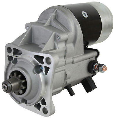 New Cw 10 Tooth 2.7Kw Starter Motor Fits Asv Scat Track Perkins Engine Mp10237