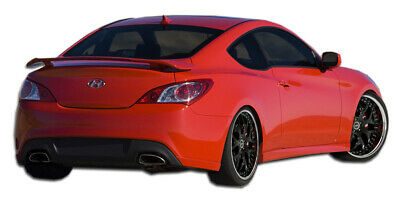 Duraflex RS-1 Rear Add On Spat Body Kit for 10-16 Hyundai Genesis Coupe