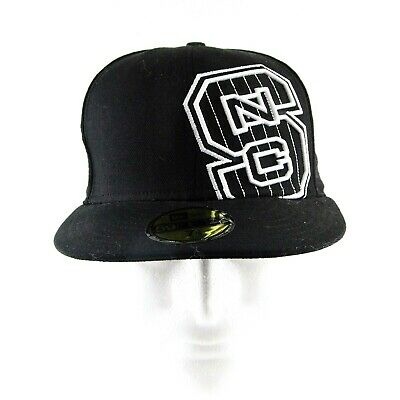 new style 0103e 87f3a New Era 59Fifty North Carolina State Wolfpack NCAA Black Fitted Hat Size  7-1