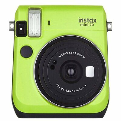 Fujifilm Instax Mini 70 Instant Film Camera - Kiwi Green [Certified Refurbished]