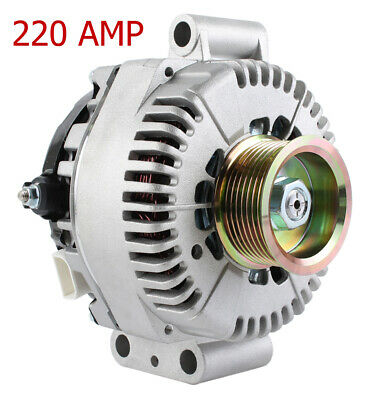 New 220A High Amp Alternator Fits Ford F-450 Super Duty 2008-10 7C3Z-10346-Ccrm