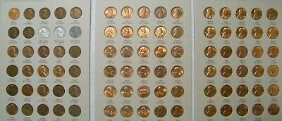 High Grade set 1941-1974 PDS Lincoln Wheat & Memorial Penny Cent Set 90 coins #3