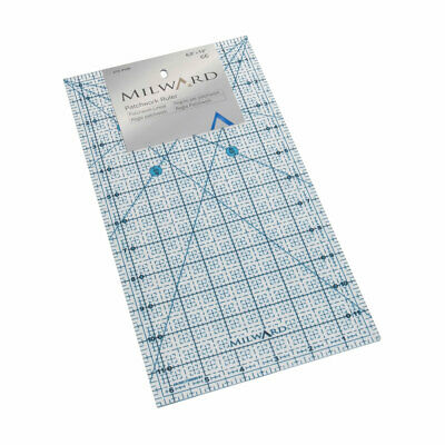Milward 2152105   Patchwork Rule   Imperial   6? x 12in   1 Piece
