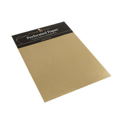 MILL HILL | Scrapbooking and Needlework Perforated Paper: Gold MHPP7