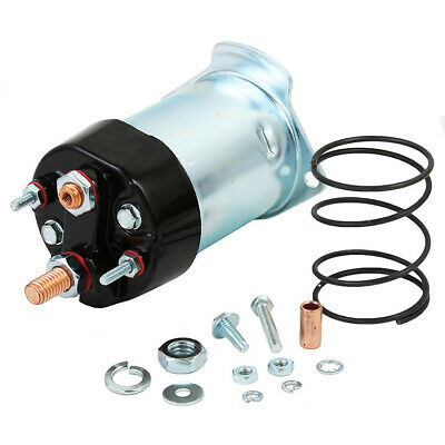 New Starter Solenoid 1972-1977 Hyster Lift Truck H-110 H-130 Chevy L6-250 335866