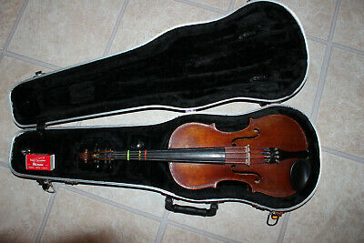 Antique JOSEF KLOTZ German Violin IN MITTENWALDE ANNO 1795 VIOLIN w/Hard Case