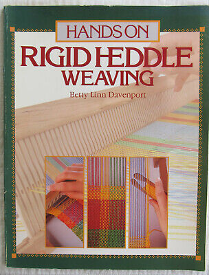 Hands On Rigid Heddle Weaving Book Betty Linn Davenport