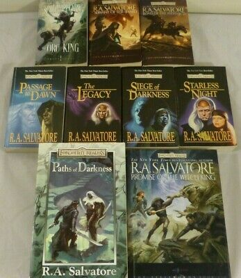 FORGOTTEN REALMS -R A  Salvatore - The Lone Drow /Hunter's Blades
