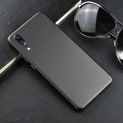 Ultra-thin Metal Texture Ice Film Full Coverage Back Case Protect for Huawei