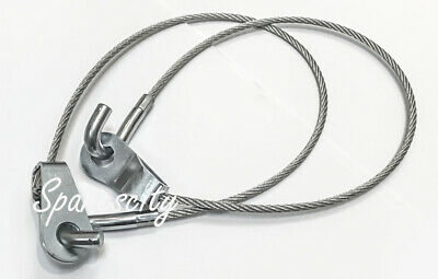 Holden Hq Hj Hx Hz Wb Ute & Van Tailgate Lowering Limit Limiter Cable L&R 1 Pair