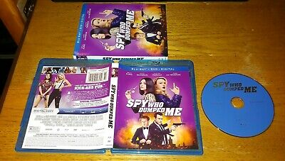 The Spy Who Dumped Me 2018 Blu-ray 1 Disc Mila Kunis Kate McKinnon FREE SHIPPING