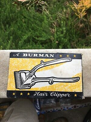 Vintage Burman Hair Clippers - Made in England