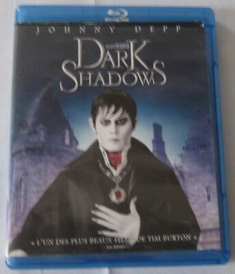BLU-RAY - DARK SHADOWS - Tim Burton, Johnny Depp, Michelle Pfeiffer