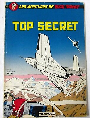 BUCK DANNY - TOP SECRET - par Charlier et Hubinon - 1972