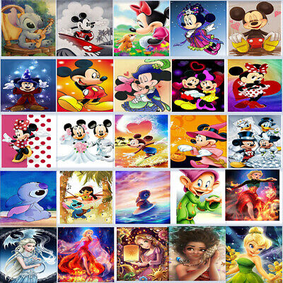 Full 5D Diamond Painting Cross Stitch&Accessories Cute Disney Characters Cartoon