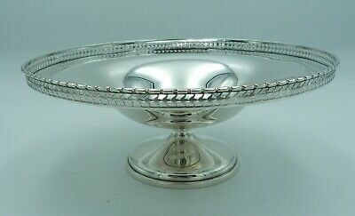 A very smart Victorian Silver Tazza Compote Bowl Fruit Dish Chester 1897
