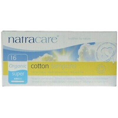 Natracare Tampons (applicator) Super - Organic