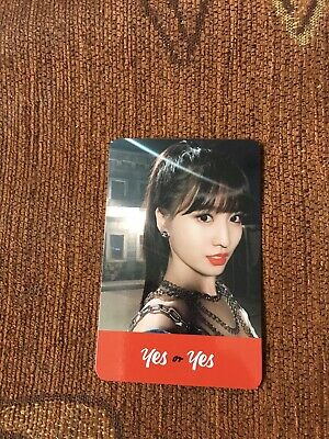 Twice Momo Yes Or Yes Photocard