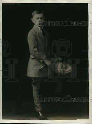 1930 Press Photo Master Howard Norton, son of Mr. and Mrs. Raymond Norton