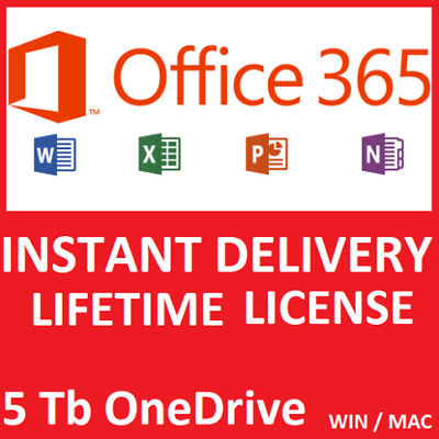 Microsoft Office 365 Account 5 Devices 5Tb Windows/ Mac Fast-Delivery