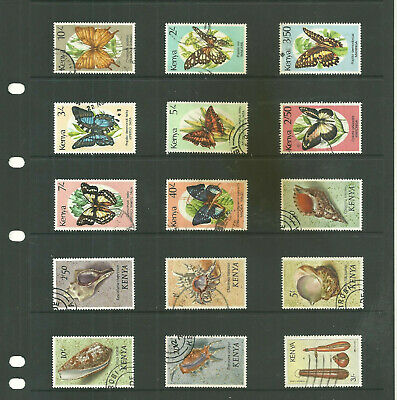 Commonwealth Kenya  one  stock sheet mix collection stamps