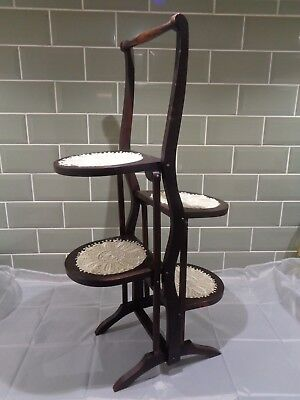 Vintage 4 Tiered Cake Stand