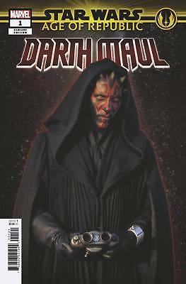 Star Wars Age of Republic Darth Maul #1 Movie Variant - Bagged & Boarded