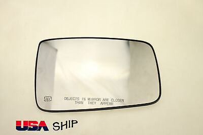 For Dodge Ram 1500 2500 2009-2018 Heated Mirror Glass Driver Left Side