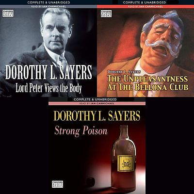 Dorothy L.Sayers - Lord Peter Wimsey Books 04-06 Audio Collection (02) on mp3CD