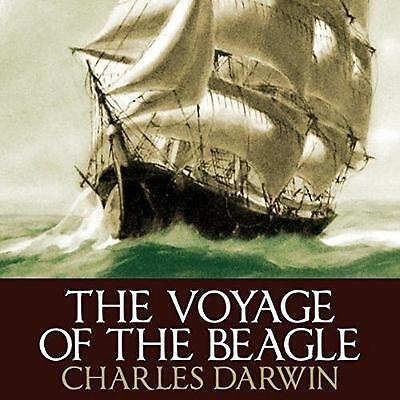 Voyage of the Beagle by Charles Darwin Audiobook on mp3CD