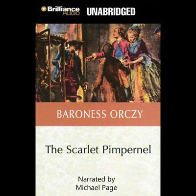 Scarlet Pimpernel Series - Books 01-03 Audiobooks By Baroness Orczy On 1 mp3CD