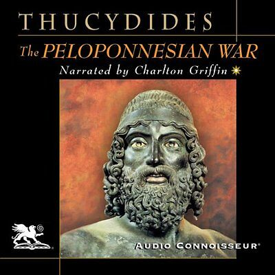 Thucydides - The History of the Peloponnesian War Audiobook on mp3CD