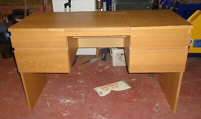 Dressing Table/ desk with pop up mirror, very nice condition