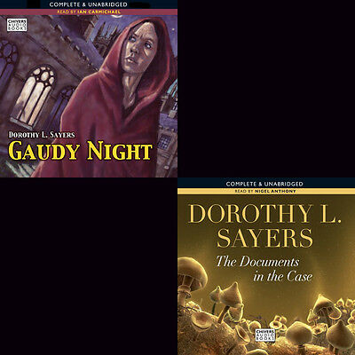 Dorothy L.Sayers - Lord Peter Wimsey Books 12 +Novel Audio Collection (05) mp3CD
