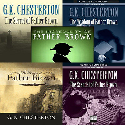 G.K.Chesterton - The Complete Father Brown Stories - mp3 CD Audiobook