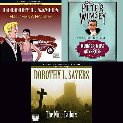 Dorothy L.Sayers - Lord Peter Wimsey Books 09-11 Audio Collection (04) on mp3CD