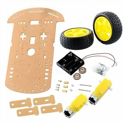 Chassis kit Car Speed encoder Battery box Tachometer Plastic For Arduino W1Z3